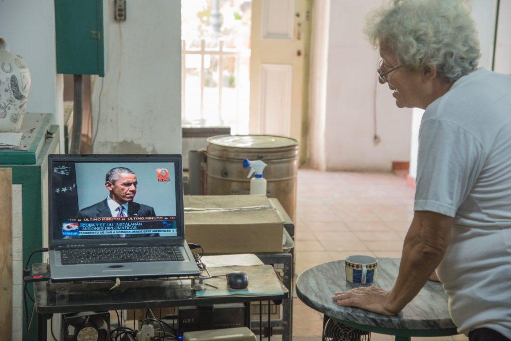 Die Ansprache von Barack Obama an die Kubaner