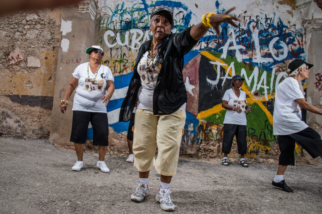 Las chicas del ayer - Rap in Kuba in aktion